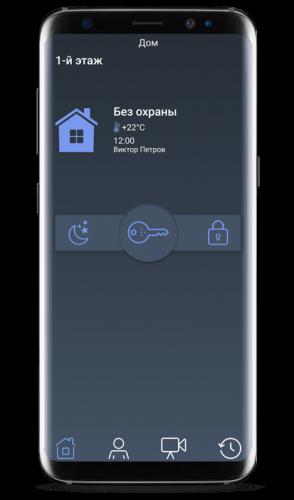 MAKS PRO - Постановка под охрану - Охранная система сигнализаций